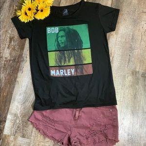 Bob Marley | Black Classic Bob Marley Tee Shirt
